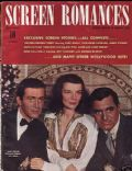 James Stewart on the cover of Screen Romances (United States) - December 1940