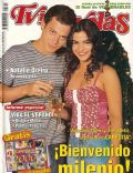 Agustina Cherri, Alejo Ortiz on the cover of TV Y Novelas (Argentina) - December 1999