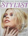 Claudia Schiffer on the cover of Stylist Magazine (United Kingdom) - November 2009