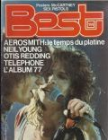 Joe Perry, Steven Tyler on the cover of Best (France) - January 1978