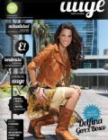Delfina Gerez Bosco on the cover of Auge (Argentina) - January 2012