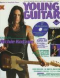 Richie Kotzen on the cover of Young Guitar (Japan) - September 2004