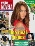 Corazón apasionado, Jessica Mas on the cover of Tele Novela (Spain) - July 2012