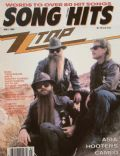 Billy Gibbons, Dusty Hill, Frank Beard on the cover of Song Hits (United States) - May 1986