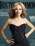 Maria Bello on the cover of Boston Common (United States) - December 2009