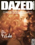 Tilda Swinton on the cover of Dazed and Confused (United States) - May 2010