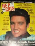 Elvis Presley on the cover of Hep Cats (United States) - December 1957