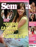 Florencia Bertotti on the cover of Semana (Argentina) - December 2005
