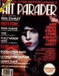 Paul Stanley on the cover of Hit Parader (United States) - June 1979