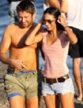 Gerard Butler and Beatriz Coelho