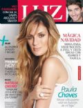 Paula Chávez, Victorio D'Alessandro on the cover of Luz (Argentina) - December 2013