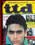 Anthony Delon on the cover of Itd (Serbia) - December 1984
