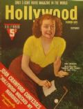 Ann Sheridan on the cover of Hollywood (United States) - September 1939