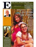 Brenda Asnicar, Laura Esquivel on the cover of Perfil (Argentina) - December 2007