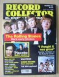 Bill Wyman, Brian Jones, Charlie Watts, Keith Richards, Mick Jagger on the cover of Record Collector (United Kingdom) - October 2000