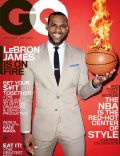 LeBron James on the cover of Gq (United States) - March 2014