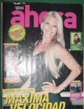 Carolina Oltra on the cover of Ahora (Argentina) - January 2011