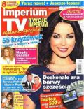 Katarzyna Glinka on the cover of Imperium TV (Poland) - July 2012