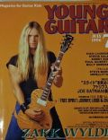 Zakk Wylde on the cover of Young Guitar (Japan) - July 1996