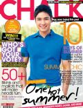 Coco Martin on the cover of Chalk (Philippines) - April 2010