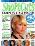 Paris Hilton on the cover of Short Cuts (United States) - March 2008