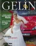 Duygu Dikmenoglu on the cover of Gelin (Turkey) - July 2000