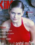 Duygu Dikmenoglu on the cover of Kim (Turkey) - November 1998