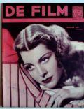 De Film (Belgian Magazine) Magazine [Belgium] (31 July 1938)