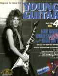 Randy Rhoads on the cover of Young Guitar (Japan) - April 1993