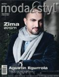 Agnieszka Popielewicz, Augustin Egurrola on the cover of Moda Styl (Poland) - December 2010