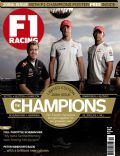 Jenson Button, Lewis Hamilton, Sebastian Vettel on the cover of F1 Racing (United Kingdom) - October 2012