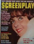 Elizabeth Taylor on the cover of Screen Play (United States) - October 1961