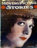 Natalie Kingston on the cover of Moving Picture Stories (United States) - January 1927
