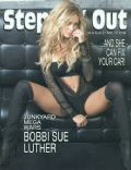 Bobbi Sue Luther on the cover of Steppin Out (United States) - January 2005
