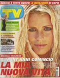 Michelle Hunziker on the cover of TV Sorrisi E Canzoni (Italy) - September 2007