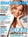 Malgorzata Foremniak on the cover of Marie Claire (Poland) - May 2005