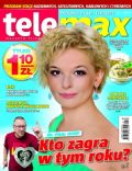 Dominika Ostalowska on the cover of Tele Max (Poland) - January 2012