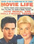 Doris Day, Elvis Presley on the cover of Movie Life (United States) - May 1961