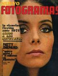 Patty Shepard on the cover of Nuevo Fotogramas (Spain) - December 1970