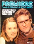 Gérard Depardieu, Miou-Miou on the cover of Premiere (France) - April 1977