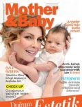 Özge Özberk on the cover of Mother and Baby (Turkey) - May 2010