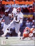 Herschel Walker on the cover of Sports Illustrated (United States) - November 1980