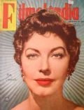 Ava Gardner on the cover of Filmelandia (Brazil) - November 1955