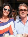 Dolph Lundgren and Jenny Sandersson