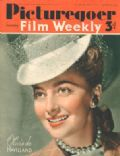 Olivia de Havilland on the cover of Picturegoer (United Kingdom) - September 1940