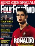 Cristiano Ronaldo on the cover of Four Four Two (United Kingdom) - July 2008