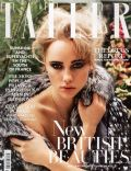 Suki Waterhouse on the cover of Tatler (United Kingdom) - July 2013
