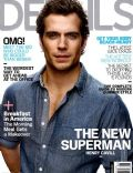 Henry Cavill on the cover of Details (United States) - June 2013