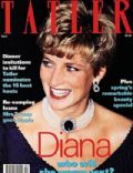 Princess Diana on the cover of Tatler (United Kingdom) - April 1993