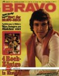 Michael Schanze on the cover of Bravo (Germany) - September 1972